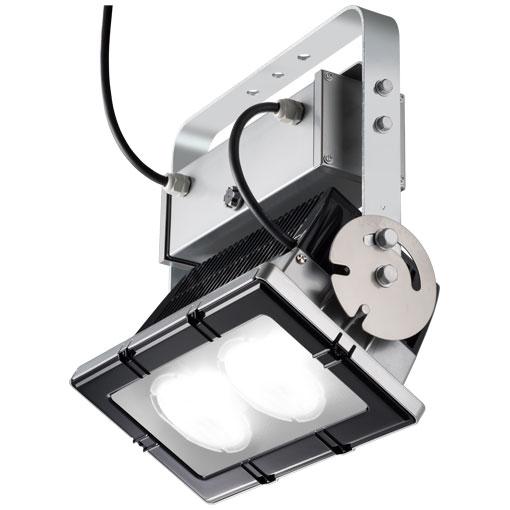 岩崎電気 ECF22202/NSAN2 (ECF22202NSAN2)  LED投光器 レディオック フラッド アーバンビューII 電源ユニット併置形横長配光タイプ