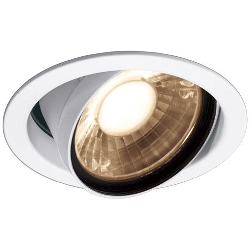 岩崎電気 EDU40102W/LSAZ9 (EDU40102WLSAZ9) LEDioc LEDユニバーサルダウンライト (COBタイプ) 一般形 クラス400-350