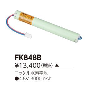 東芝 FK848B (FK848B) 補修用バッテリー ご注文後手配商品
