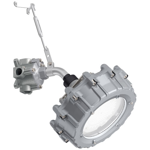 岩崎電気 EXIL3102SA9F-28 (EXIL3102SA9F28) レディオック 防爆形LED高天井照明器具 セラミックメタルハライドランプ 360W相当 40°ブラケット形