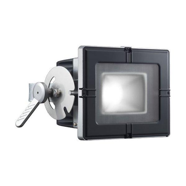 岩崎電気 E35101W/NSAN8 (E35101WNSAN8) LED投光器 65Wタイプ (水銀ランプ200W角形投光器相当) フラットアーム 昼白色タイプ