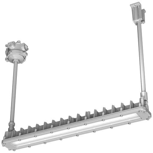 岩崎電気 EXICL2041BSA9-22 (EXICL2041BSA922) LEDioc 防爆形LED照明器具 (蛍光灯代替品) Hf32W×2灯用 (高出力形) 相当 パイプ吊形 ハブ寸法22