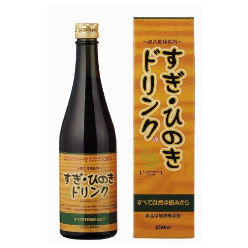 オーサワジャパン 総合健康飲料 「すぎ・ひのきドリンク」  500ml