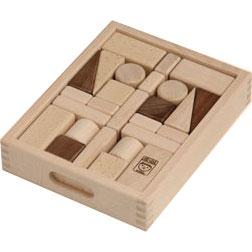 河合楽器製作所 4031 セレクトシリーズ つみき (くみあわせてあそぶ) 木の玩具