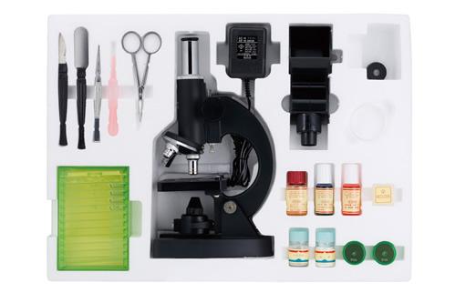 【送料無料】ビクセン 顕微鏡 学習用顕微鏡セット ミクロショット800 ミクロショットシリーズ 21203-3【代金引換不可】