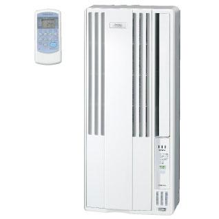 日冕的 Windows 空调 CW-1616年 (WS) 冷却只类型电晕的白色外壳在日本工作不必要墙洞无室外机不是必需的