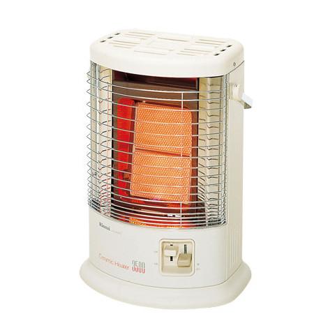 【あす楽】リンナイ ガス赤外線ストーブ R-852PMSIII(A) 都市ガス13A用【ガスコードは別売です】