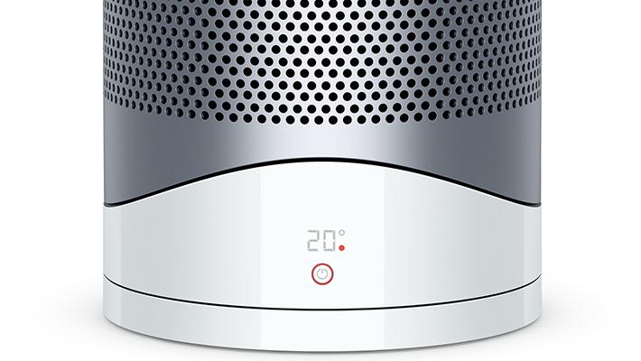 没有戴森纯热 & 凉爽空气净化器空调电器加热器与羽毛扇 HP01 WS 白色和银色