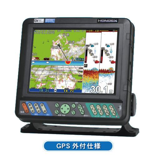 【代引手数料無料】 ホンデックス (HONDEX) プロッター魚探 HE-8S 8.4型液晶 【GPS外付仕様・出力600W】
