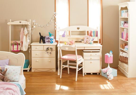 KARIMOKU学习桌8分安排Country country desk·书架桌子椅子、书架胸·衣架框床架子·垫子