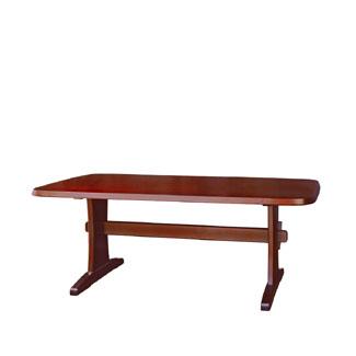飛騨産業 北海道民芸家具シリーズ テーブル(W165) HM324WP キツツキマーク【代引対象外】