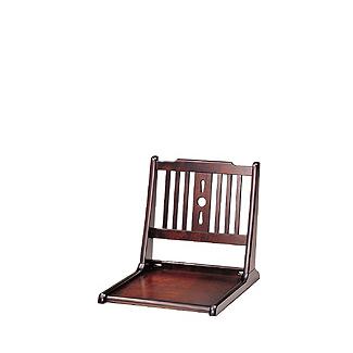 飛騨産業 北海道民芸家具シリーズ 座椅子 HM690 キツツキマーク