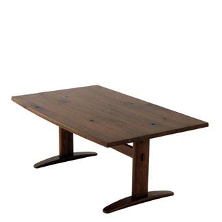 飛騨産業 森のことばWalnutシリーズ LDテーブル(W160)SW384WP キツツキマーク