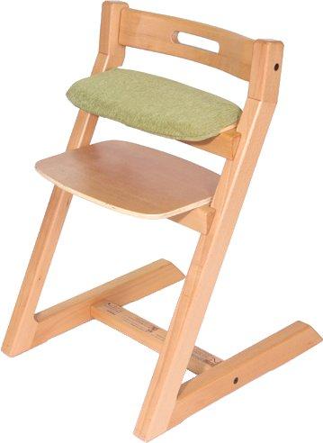 Hoppl ホップル チョイスシリーズ専用クッションカバー CH-BC-GN グリーン 日本メーカー新品 キッズ専用クッション 中古 チョイスベビー スモールシート用 椅子本体は付属しません