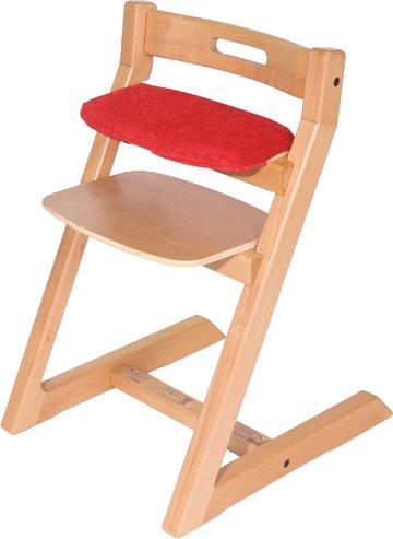 Hoppl ホップル チョイスシリーズ専用クッションカバー CH-BC-RD レッド ランキングTOP10 通常便なら送料無料 スモールシート用 チョイスベビー キッズ専用クッション 椅子本体は付属しません