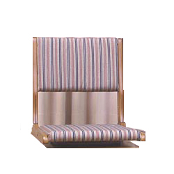 中居木工 天然木 和風回転座椅子 日本製 NK-2345【送料無料(北海道・沖縄・離島除く)】【代引不可】
