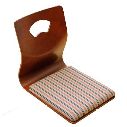 中居木工 天然木 成型座椅子DX 日本製 NK-2396【送料無料(北海道・沖縄・離島除く)】【代引不可】