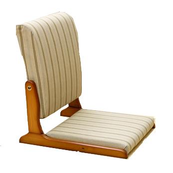 中居木工 天然木 木製 背伸び座椅子 日本製 NK-2308 NK-2309【送料無料(北海道・沖縄・離島除く)】【代引不可】