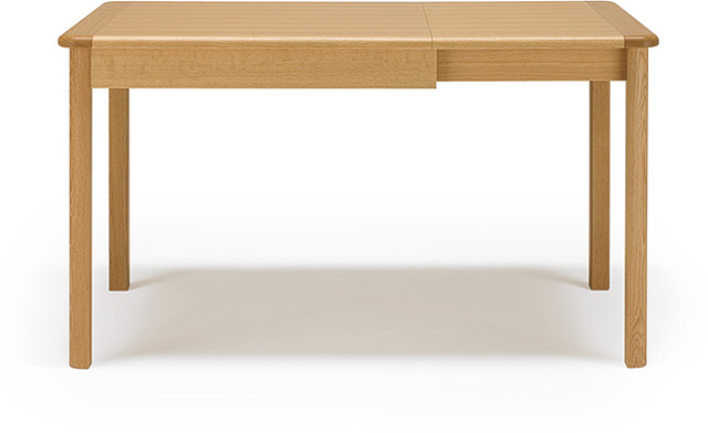 メーベルトーコーMOBELTOKO マーチテーブル(伸縮テーブル) オーク材ナチュラルカラー