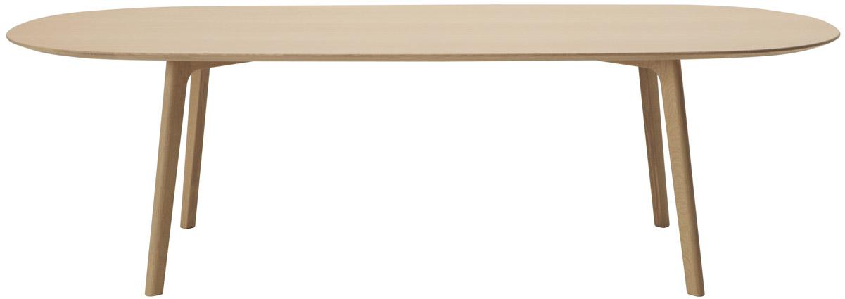マルニ木工 MARUNI COLLECTIONシリーズ Roundish ラウンディッシュ ダイニングテーブル240 No.1010-38-0000