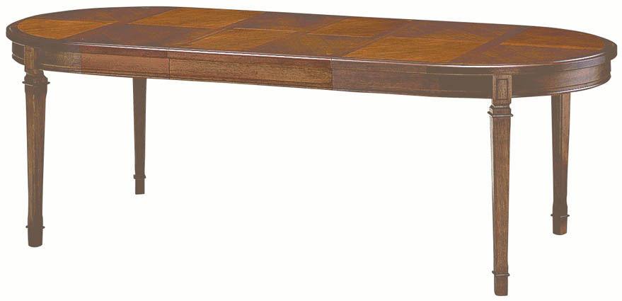 Maruni Woodwork Mediterranean Series Dining Table Extendable No 1200 10