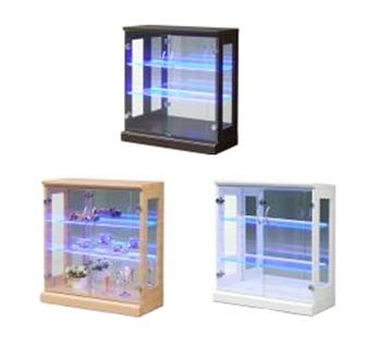 コレクションボード ビーム LED ブルー光線 70コレクションボード(L) W70×D32×H75cm