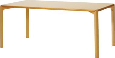 天童木工 T-2731NA-NT Rall. テーブル ホワイトビーチ (ナチュラル)