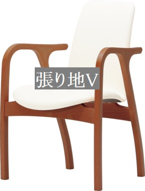 <title>天童木工 T-5039WB-BW 他張り地あり 新品未使用正規品 代金引換対象外 椅子 イス チェア 張り地グレードV 模様替え インテリア 食卓 木製イス 木製椅子</title>