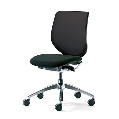 PLUS オフィスチェア ジロフレックス 313-4039RPS 肘なし【代引き不可】【受注生産品】