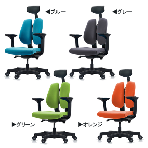 【送料無料】デュオレスト オフィスチェア D100 Dシリーズ ドリームウェア