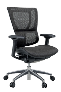 Ergohuman(erugohyuman)办公室椅子工作人员低型EHS-LAM(KM-11)黑色的前方汇款(在货到付款的情况下花费另外的邮费和手续费)