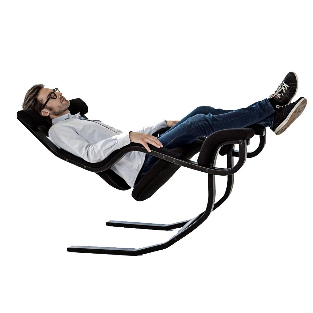 ヴァリエール グラビティ バランスチェア 座面:ブラック/木部:ブラック バリエール グラヴィティ ストッケ VARIER Gravity Balance Chair STOKKE【代金引換対象外】