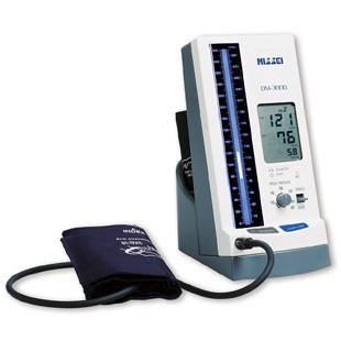 日本精密測器 DM-3000 水銀柱イメージ・デジタル血圧計
