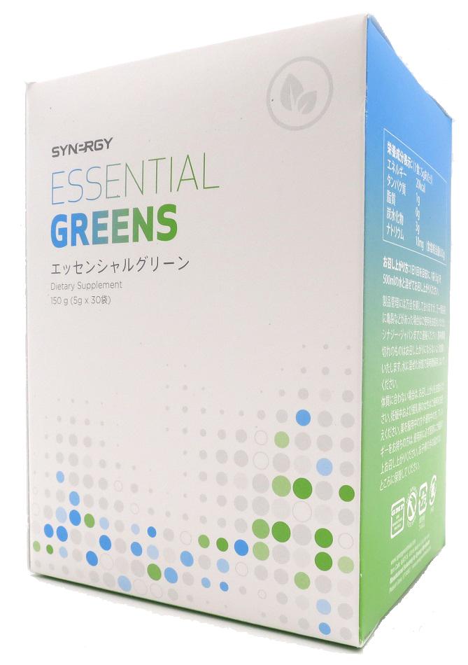 エッセンシャルグリーン 小麦葉・麦芽・大麦混合食品 ■シナジーワールドワイド ■栄養補助食品 【送料サイズ(3)】