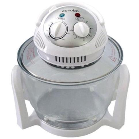 『送料無料』 コロボ(corobo) ホワイトCKY-19Q ノンオイルフライヤー カーボンコンベクションオーブン