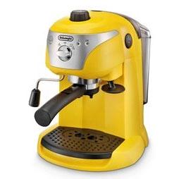 Telshop Japan Rakuten Global Market: Delonghi (DeLonghi) EC221Y yellow espresso-cappuccino ...