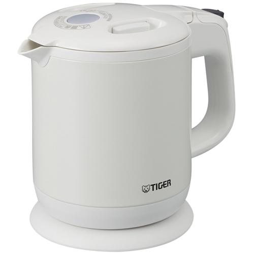 Tiger steamless electric kettle boiled child PCH-G060 WP Peal White 0 6  liters