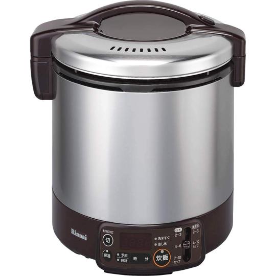 【在庫・納期お問合せ下さい】リンナイ(Rinnai) ガス炊飯器 こがまる RR-100VMT(DB) ガス種:13A・12A【ガスコード別売】