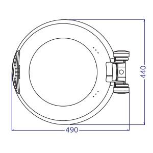15701 チューフィング スマートチューフィング 本体(ガラス) Lサイズ SMART
