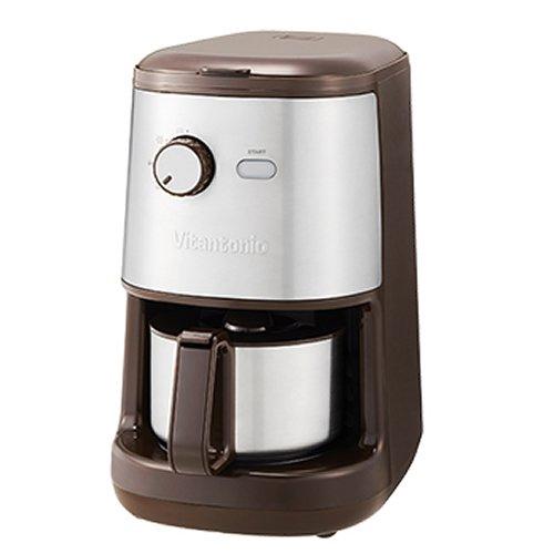 ビタントニオ 全自動コーヒーメーカー VCD-200-B ブラウン 送料無料 Vitantonio