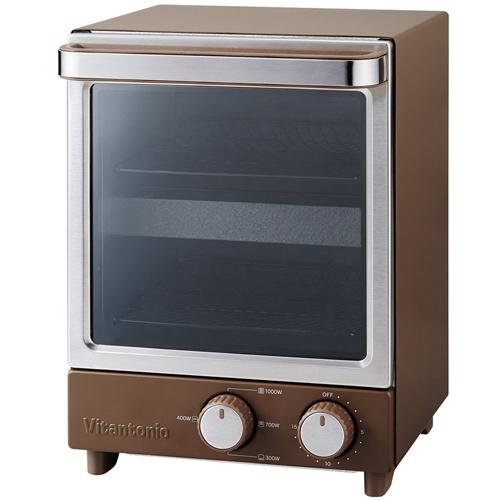 ビタントニオ 縦型オーブントースター VOT-20-B ブラウン Vitantonio