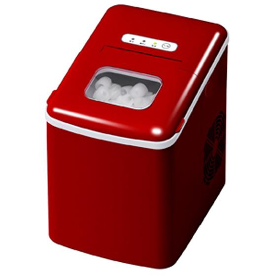 高速製氷機 ベルソス VS-ICE05 レッド 送料無料 VERSOS コンパクト 家庭用 ショッピング 穴あきキャップ型 激安セール 送料無料穴あきキャップ型
