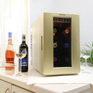 Dometic(ドメティック) DW6-CG シャンパンゴールド 小型ワインセラー ~6本収納 ※代引除き送料無料