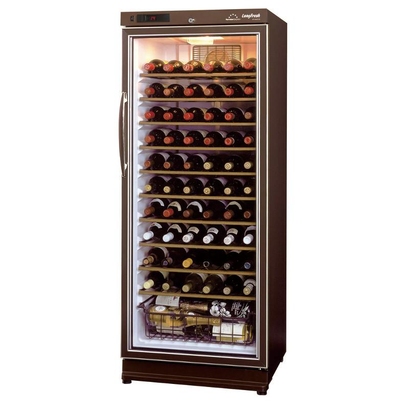 【関東は開梱設置付き送料無料】ワインセラー フォルスター ロングフレッシュ ST-NV271G(B)ブラウン(ワイン収納本数70本)【代引対象外】