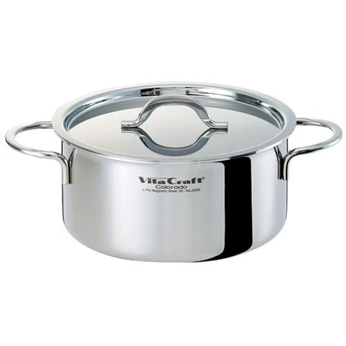 [Vita Craft] ビタクラフト コロラド 両手ナベ 22cm [2505]