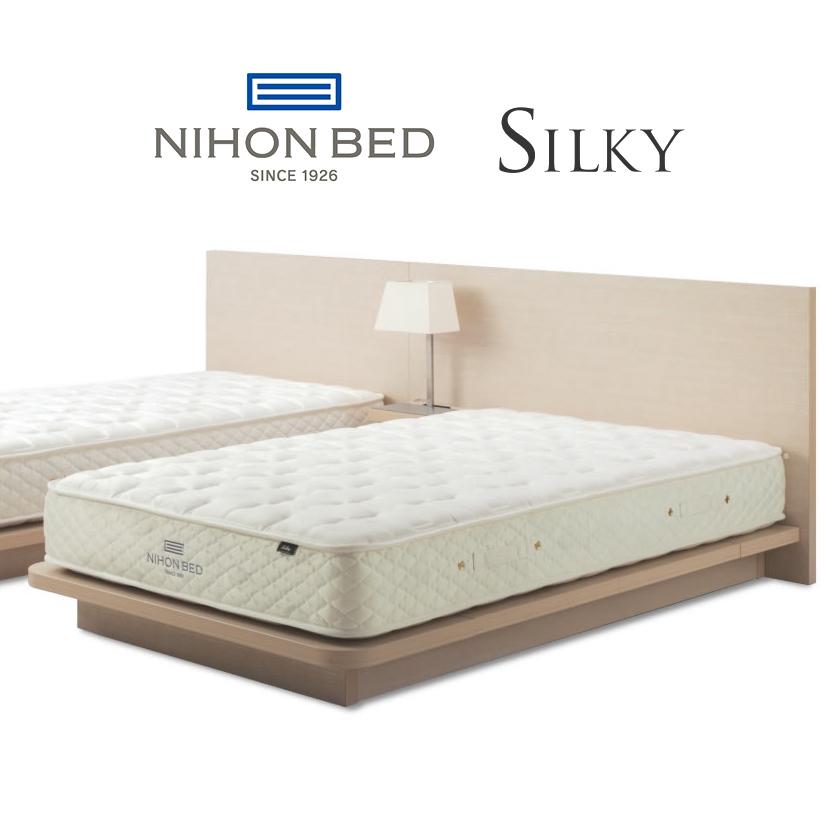 【関東設置無料】日本ベッド シルキーポケット (ウール入) セミダブルサイズ ハード Silky 11266 SD【マットレスのみ】