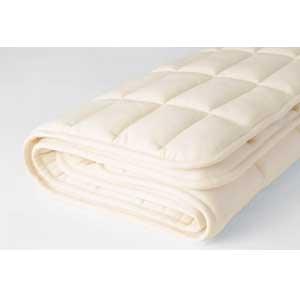【送料無料】日本ベッド ベッドパッド ウールパッド 50779SD セミダブルサイズ
