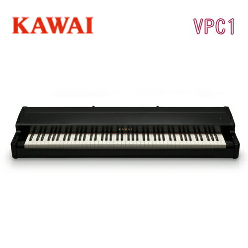 【3本ペダル付属】【先着で素敵なプレゼント付♪】KAWAI 河合楽器製作所 カワイ / MIDIキーボード / VPC1【音源未搭載・発音機能なし・本製品はソフトウェアピアノ音源用キーボードです】【送料無料】