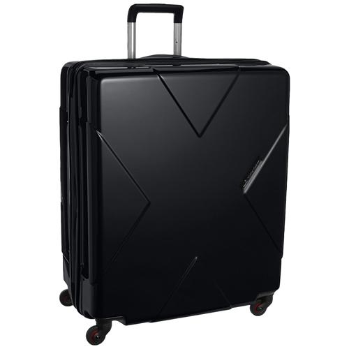 HIDEO WAKAMATSU スーツケース メガマックス 送料無料 85-75951 ブラック 無料飛行機預け可能 105リットル ヒデオワマカツ MEGAMAX MEGA MAX