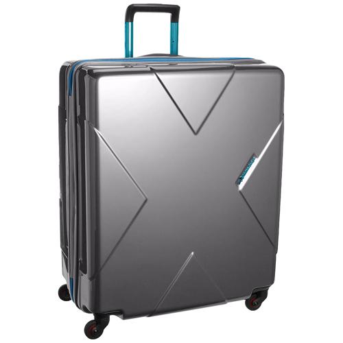 HIDEO WAKAMATSU スーツケース メガマックス 送料無料 85-75955 シルバー 無料飛行機預け可能 105リットル ヒデオワマカツ MEGAMAX MEGA MAX